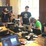Le hackathon du Music Tech Fest à Berlin a réuni 75 participants de toute l'Europe. © Elsa Ferreira