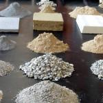 Le matériau terre, l'argile dans tous ses états, étaient à l'honneur à Terra Lyon, le rendez-vous des spécialistes des architectures de terre. © Caroline Grellier