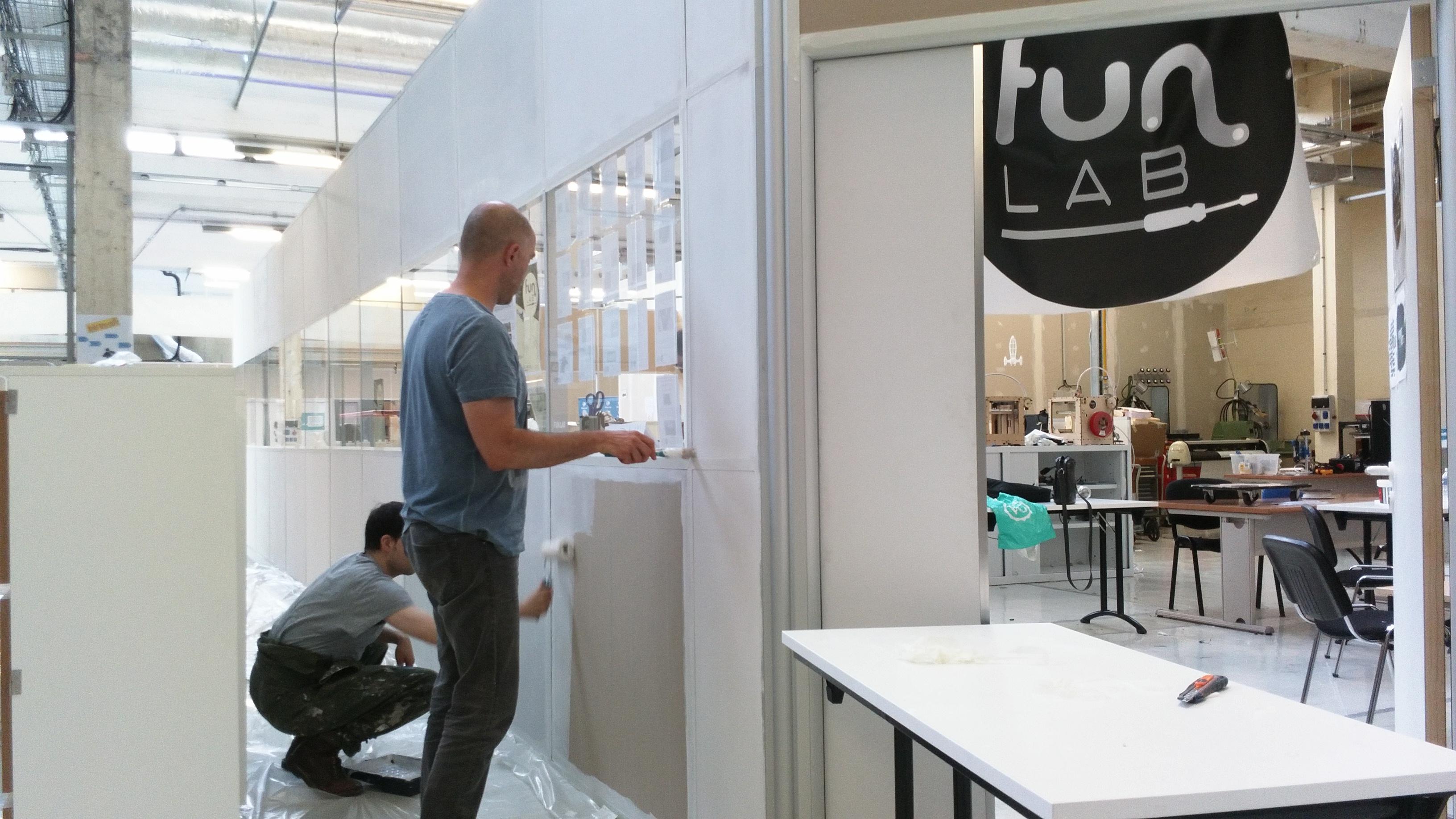 le funlab de tours prototype son nouveau fablab makery. Black Bedroom Furniture Sets. Home Design Ideas