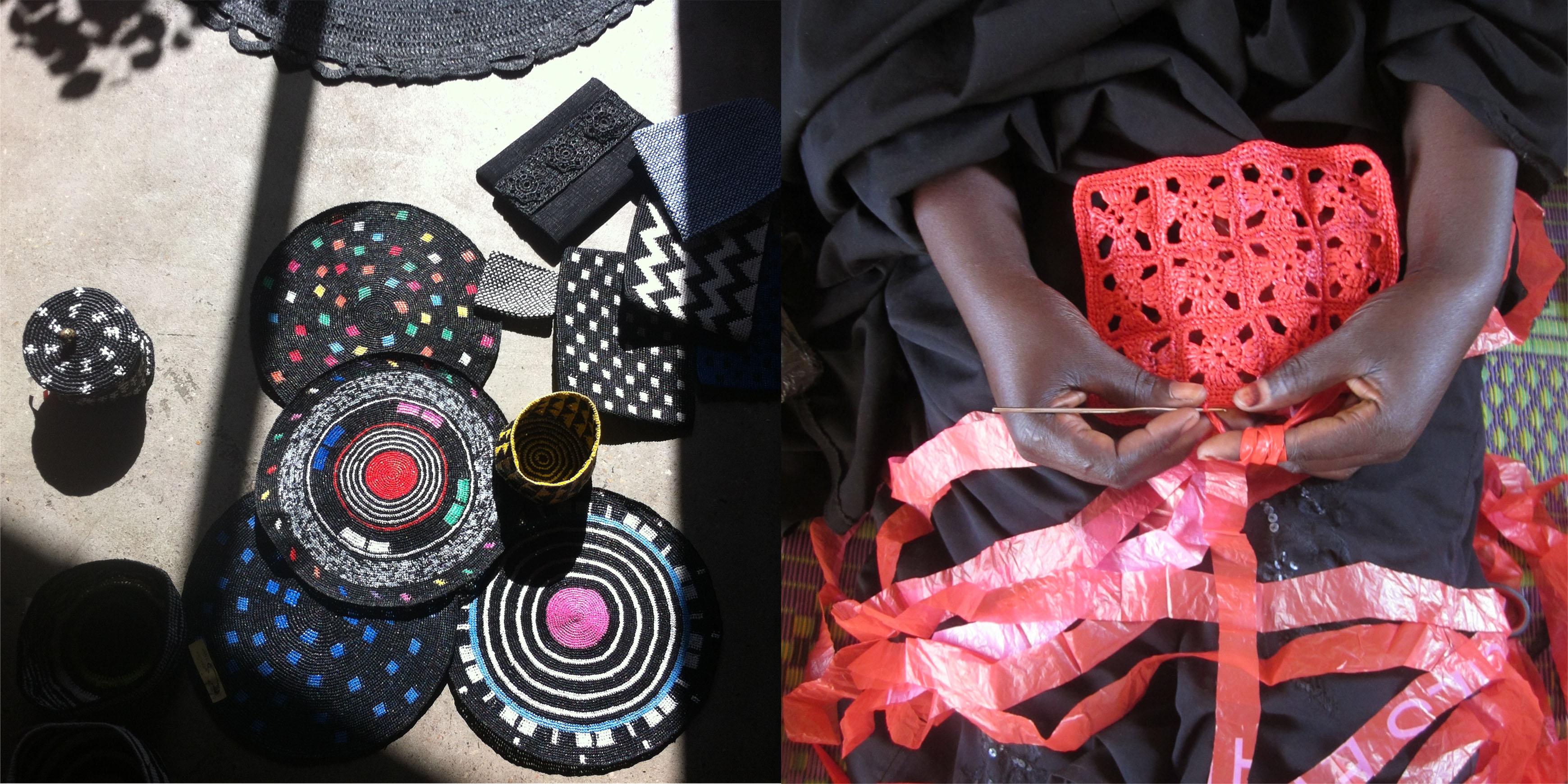 Très bien Le crochet change la vie de femmes et des sacs plastique à Ouaga &OP_92