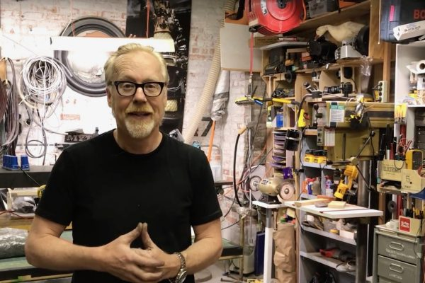 Adam Savage launches Nation of Makers from the studio of his Tested website (screen capture). © DR