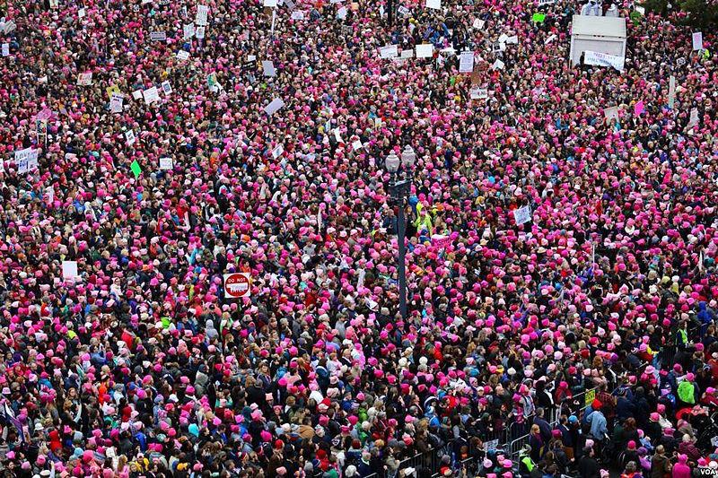 205c949c1ab Women s March on Washington on January 21. © Wikimedia Commons