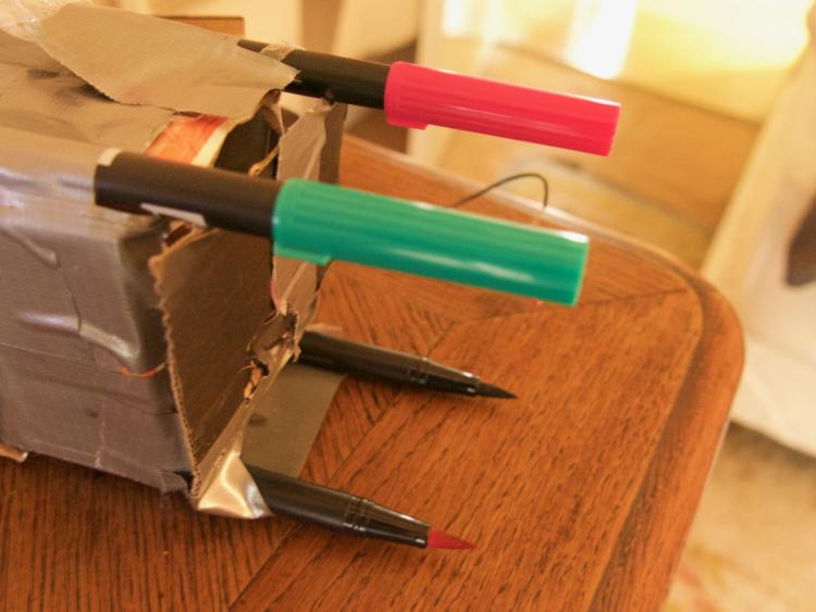 Make An Artist Robot For 5 Dollars Makery