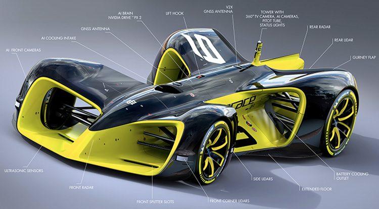 Roborace The First Race Of Autonomous Electric Racing Cars