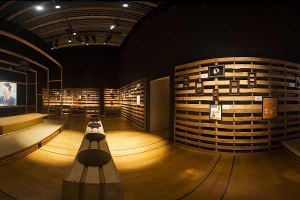 """360° view of Lifepatch's """"Rumah dan Halaman"""" exhibition at the ICC in Tokyo. © Lifepatch CC-by-SA 3.0"""