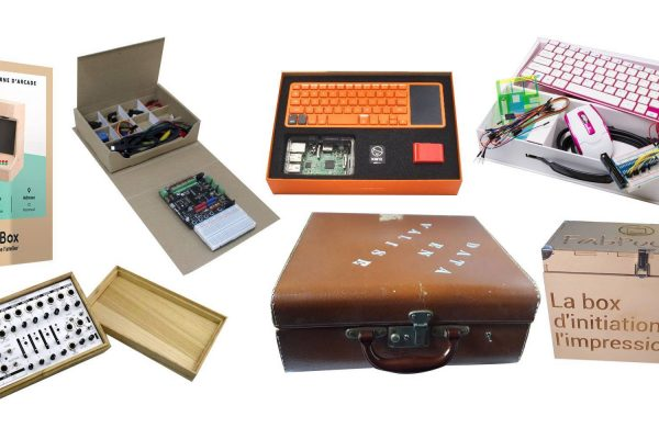 Suitcases, briefcases, kits and other DIY all-in-one boxes. © Makery