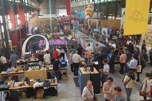 Crowd at the Fablab Festival 2017. ©Makery