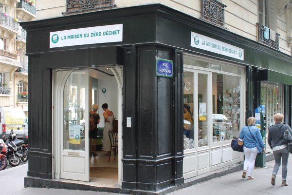 A Paris 18ème, l'espace de la Maison du Zéro Déchet. © Makery