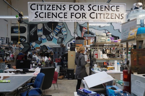 Counter Culture Labs, le laboratoire pour la science citoyenne à Oakland, en Californie. © Cherise Fong