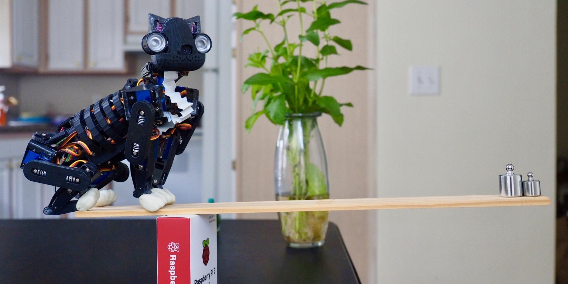 OpenCat, the DIY pet robot for cat lovers : Makery