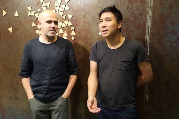 Les architectes Francesco Cingolani et Minh Man Nguyen ont cofondé Fab City Grand Paris, l'association organisatrice du Fab City Summit. © Annick Rivoire
