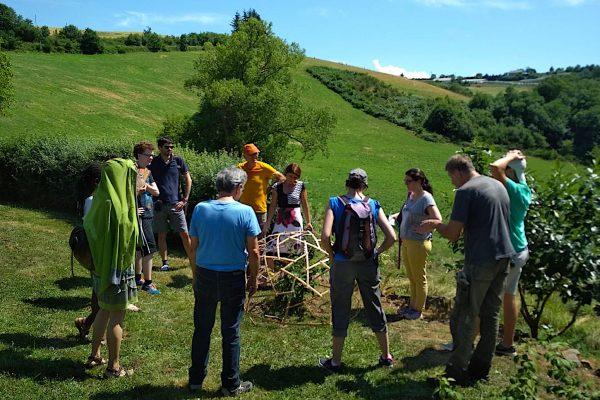 En pleine nature pour le FAB14 distribué dédié à l'alimentation et à l'agriculture à Albi. © Bénédicte Amigues