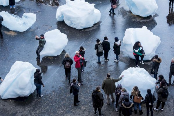 Ice Watch, Tate Modern in London © Olafur Eliasson