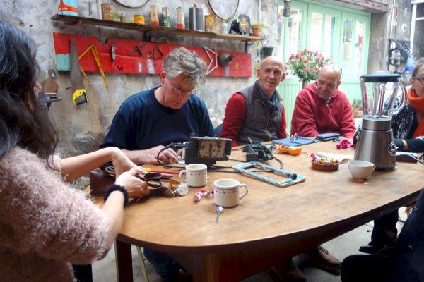 Repair Café à La Recycl' le 3 mars 2019 © Frank Beau